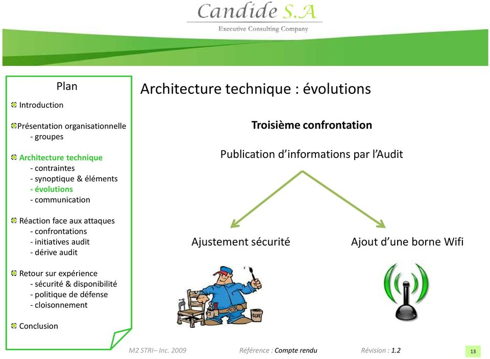 informations par l Audit