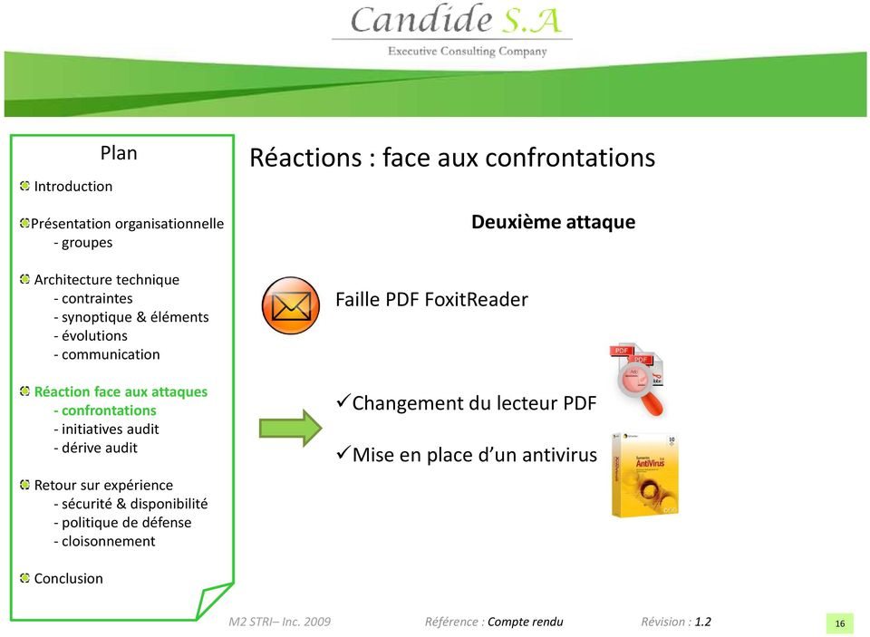 Faille PDF FoxitReader Changement