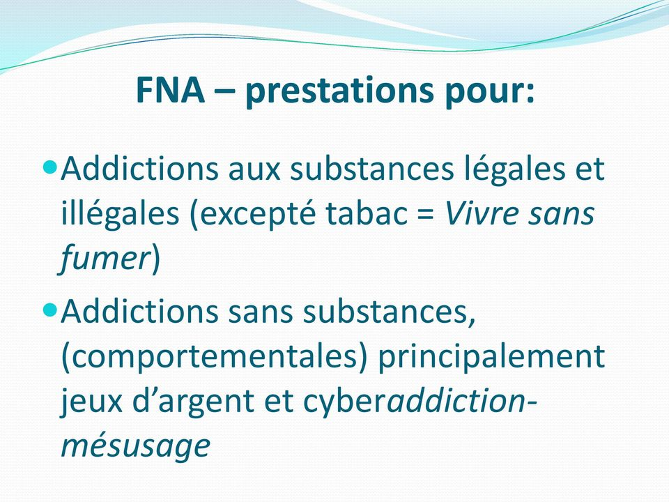 fumer) Addictions sans substances,