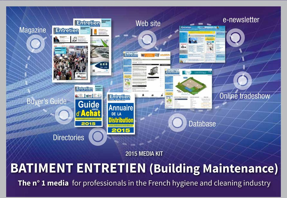 ENTRETIEN (Building Maintenance) The n 1 media for