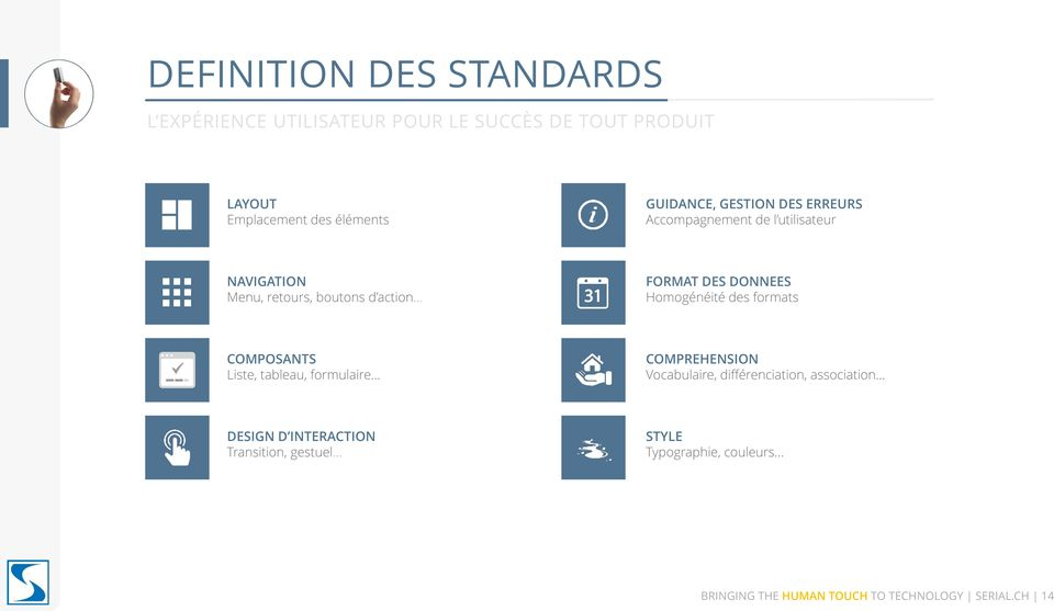 COMPOSANTS Liste, tableau, formulaire COMPREHENSION Vocabulaire, différenciation, association DESIGN D