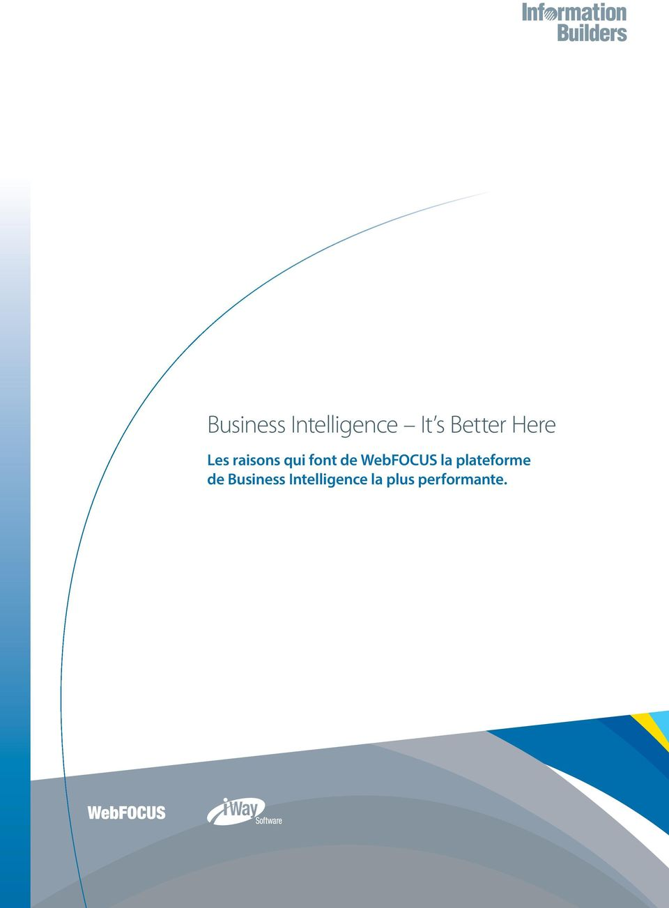 plateforme de Business Intelligence la