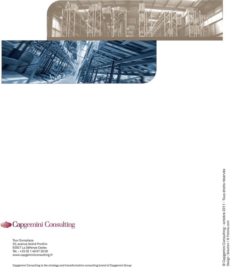 fr Capgemini Consulting is the strategy and transformation consulting brand
