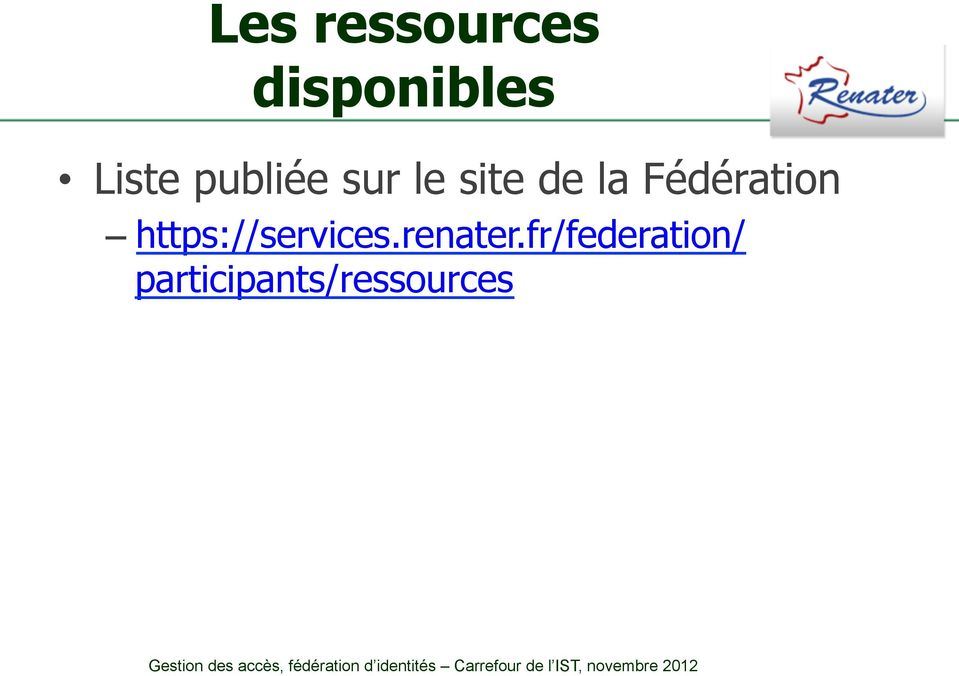 Fédération https://services.