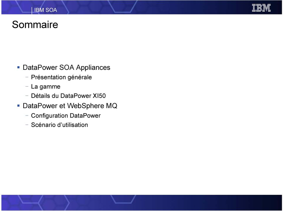 du DataPower XI50 DataPower et WebSphere MQ