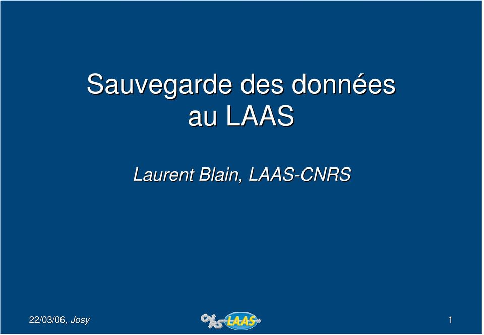 LAAS Laurent