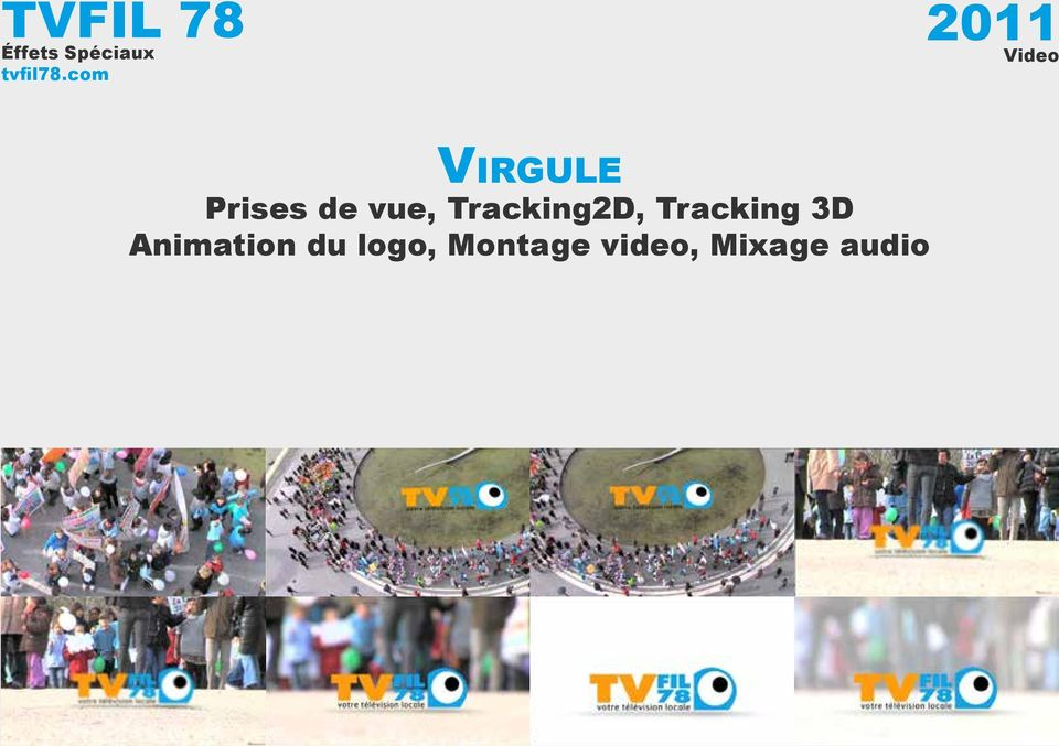vue, Tracking2D, Tracking 3D