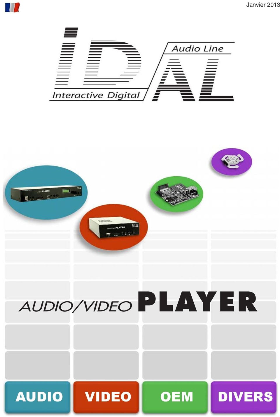 PLAYER AUDIO