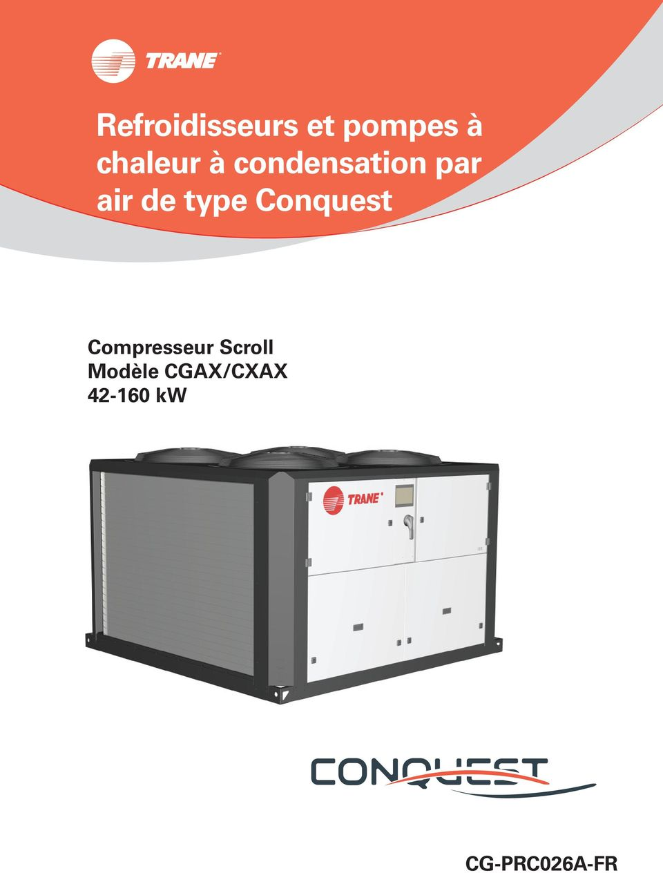 de type Conquest Compresseur