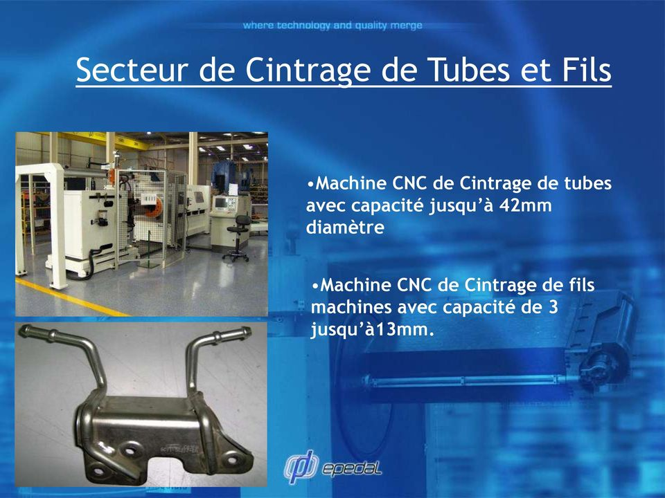 à 42mm diamètre Machine CNC de Cintrage de