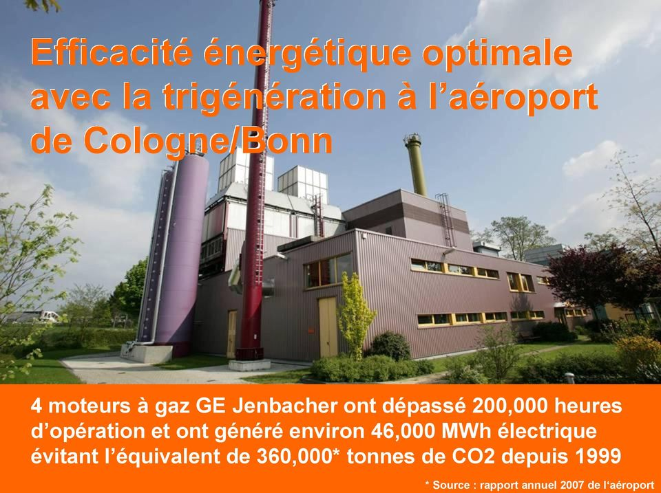 de CO2 depuis 1999 The content is the property of General Electric Company and must not be reproduced or disclosed to