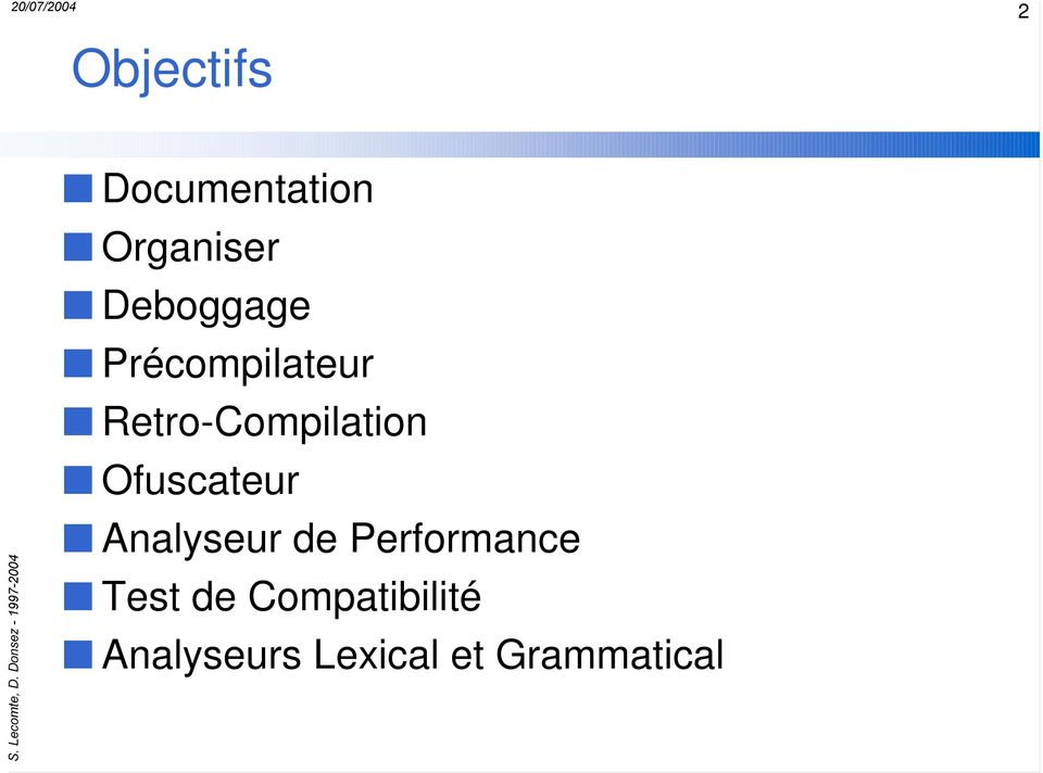 Ofuscateur Analyseur de Performance Test