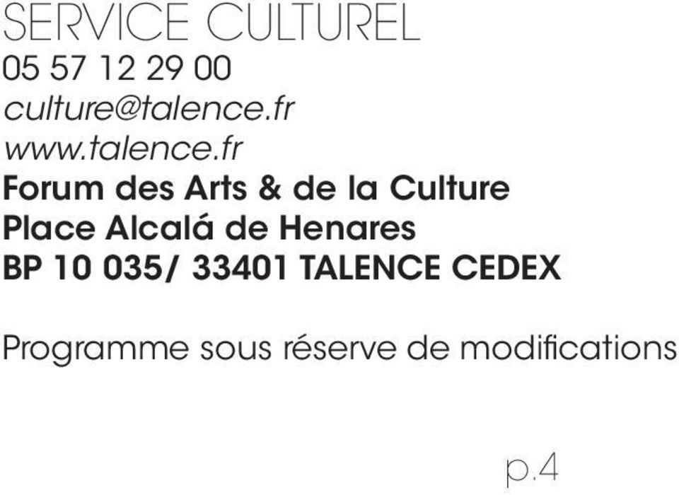 fr Forum des Arts & de la Culture Place Alcalá