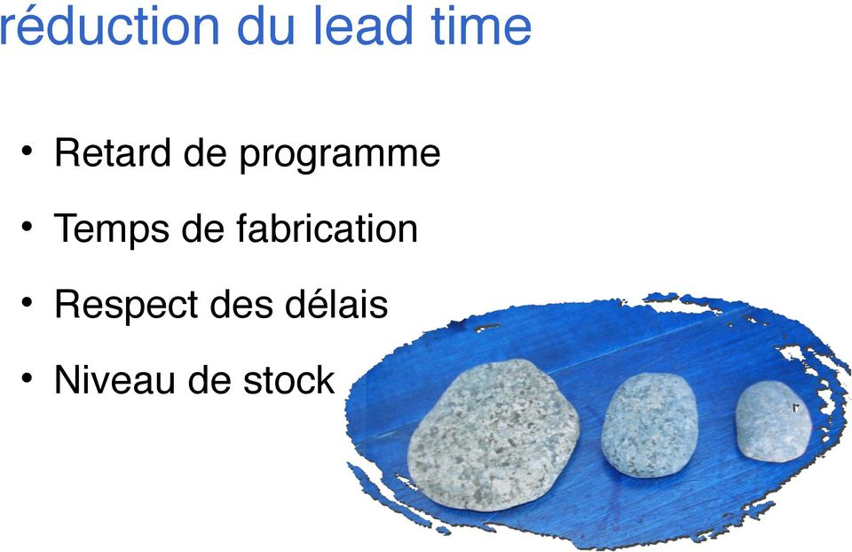 Temps de fabrication