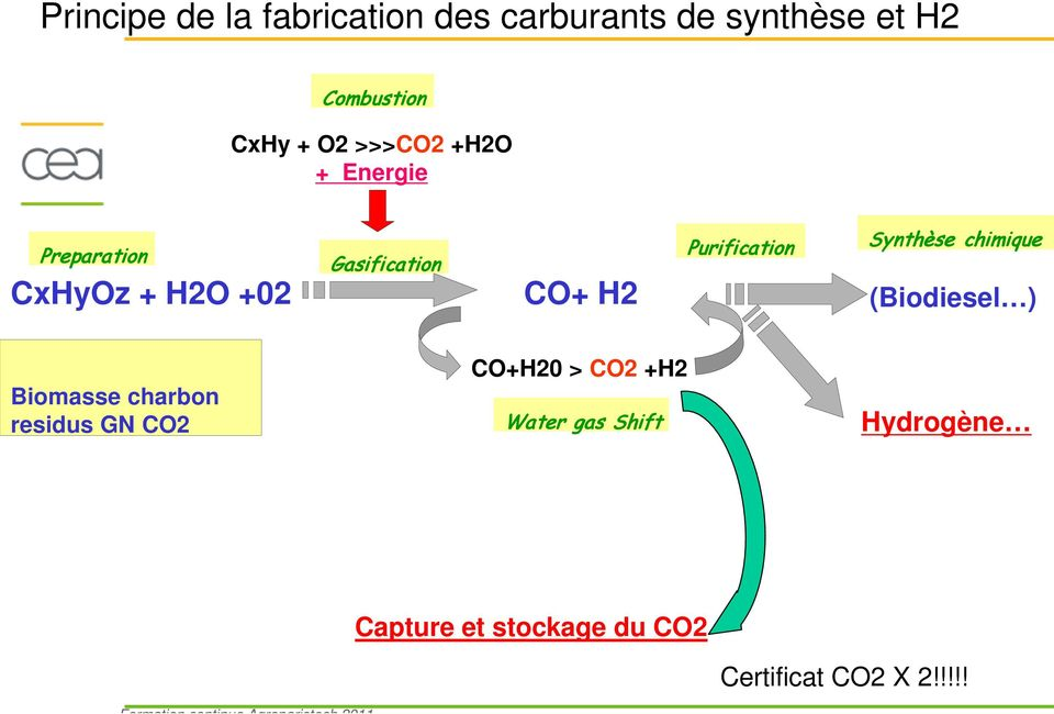 Purification Synthèse chimique (Biodiesel ) Biomasse charbon residus GN CO2