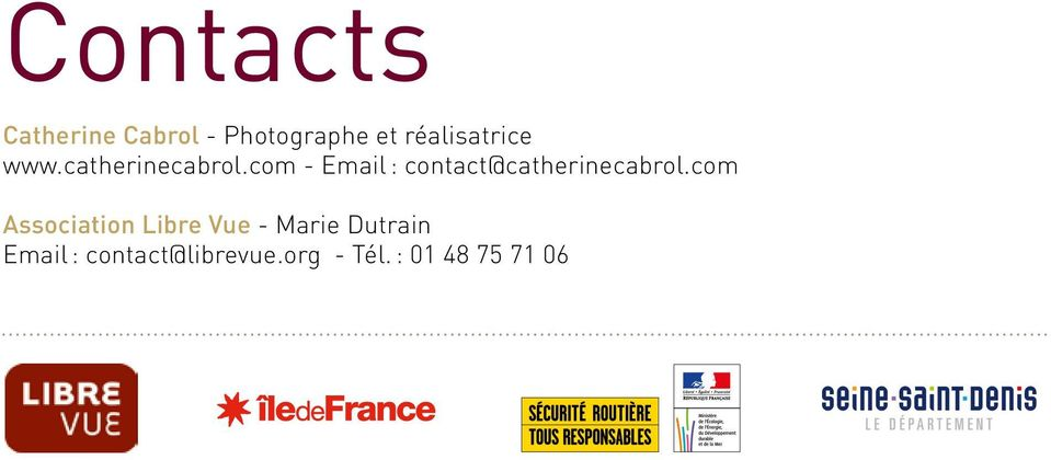 com - Email : contact@catherinecabrol.