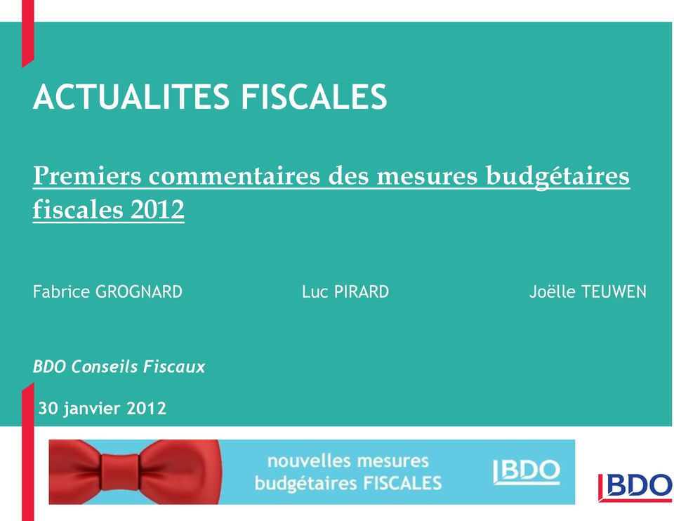 fiscales 2012 Fabrice GROGNARD Luc