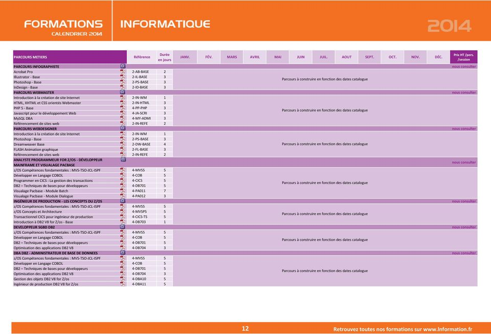 html 2-PS-BASE 3 InDesign - Base http://www.lnformation.fr/formation_1149_indesign_base_2_id_base.html 2-ID-BASE 3 PARCOURS WEBMASTER http://www.lnformation.fr/filiere_60_cursus_metiers.