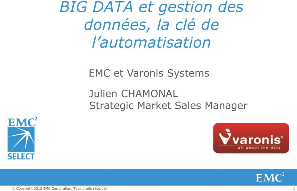 et Varonis Systems Julien