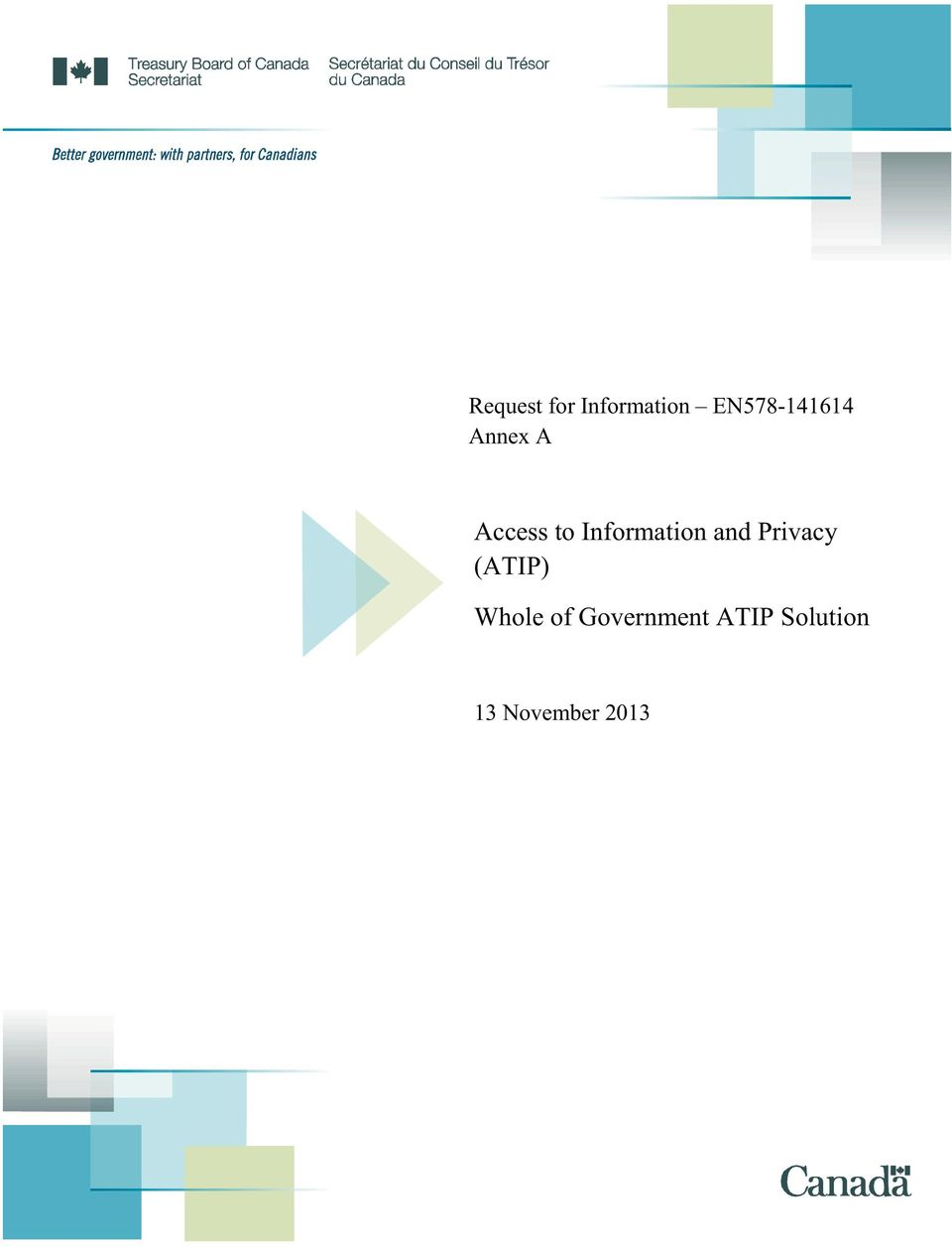 Information and Privacy (ATIP)