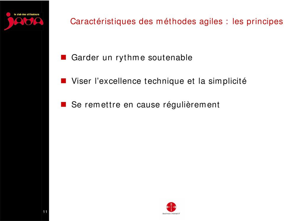 soutenable Viser l excellence technique