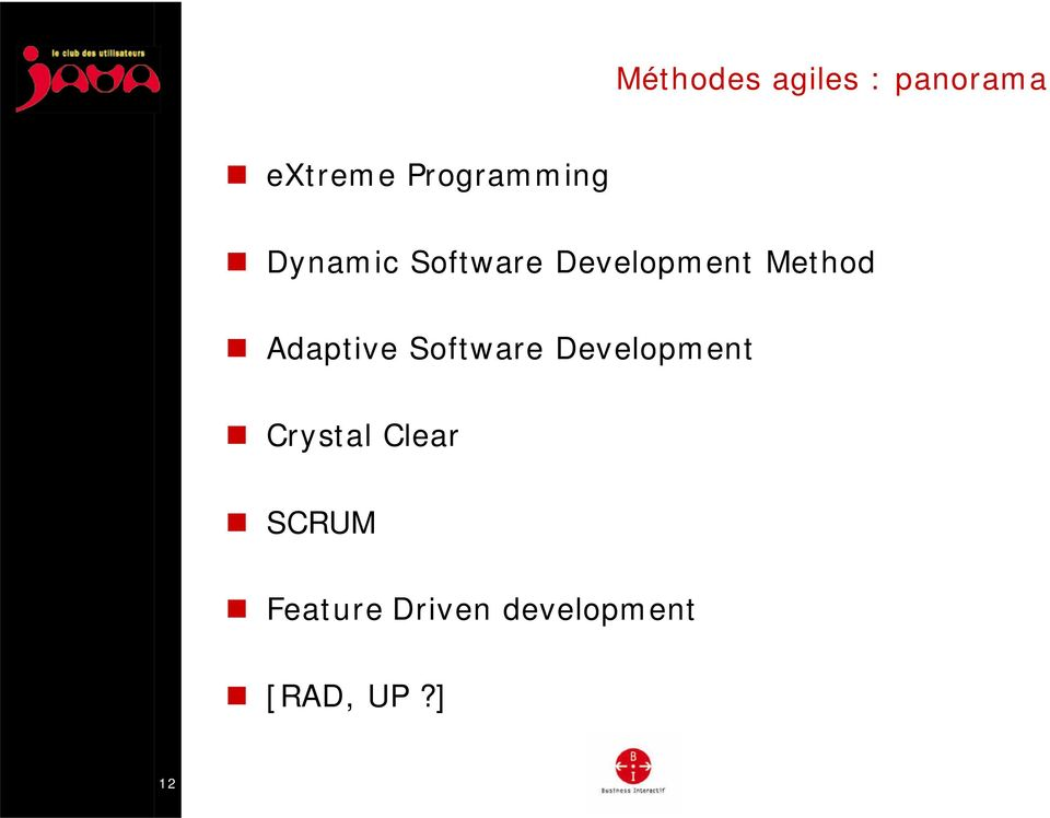 Method Adaptive Software Development