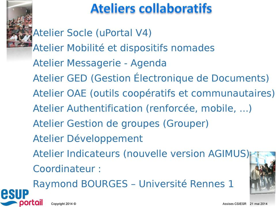 Atelier Authentification (renforcée, mobile,.