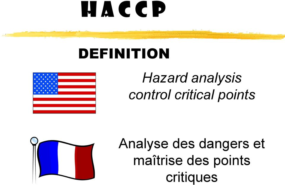 points Analyse des dangers