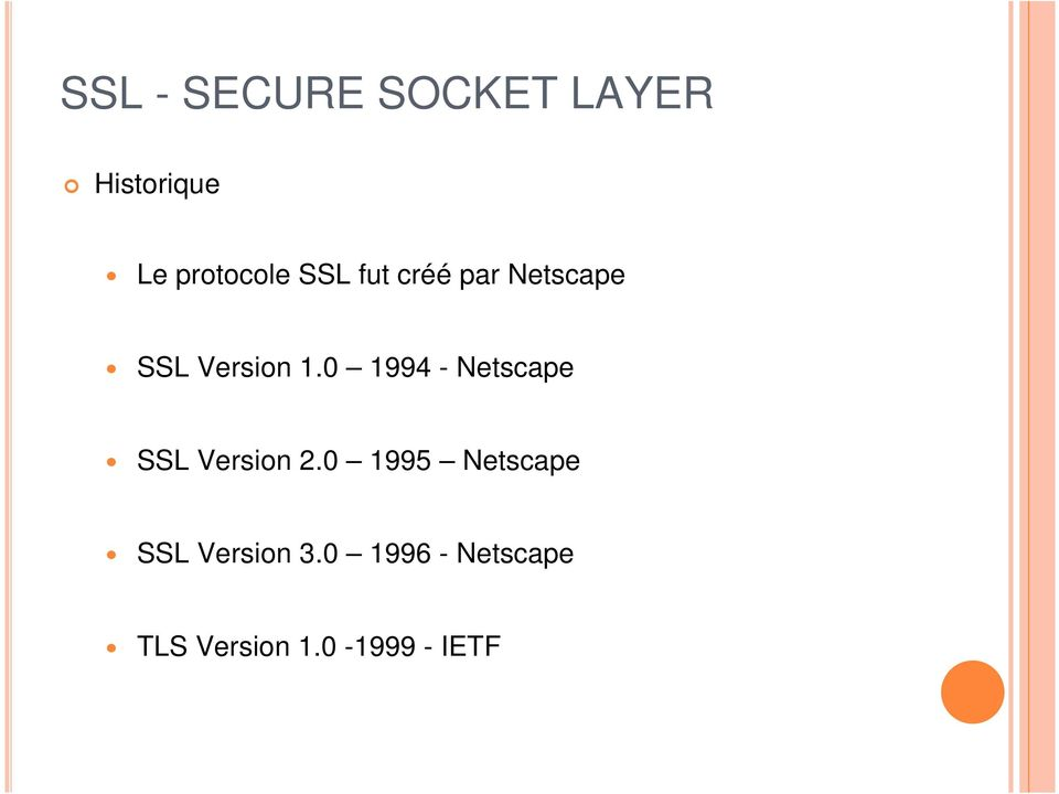 0 1994 - Netscape SSL Version 2.