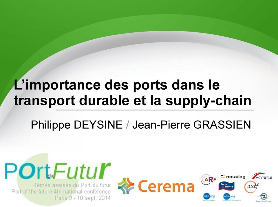 et la supply-chain