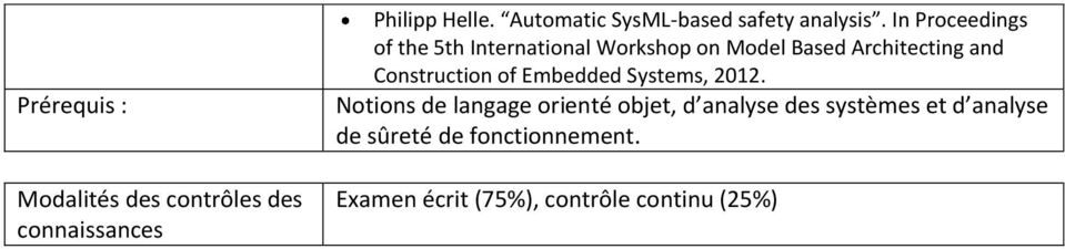 In Proceedings of the 5th International Workshop on Model Based Architecting and