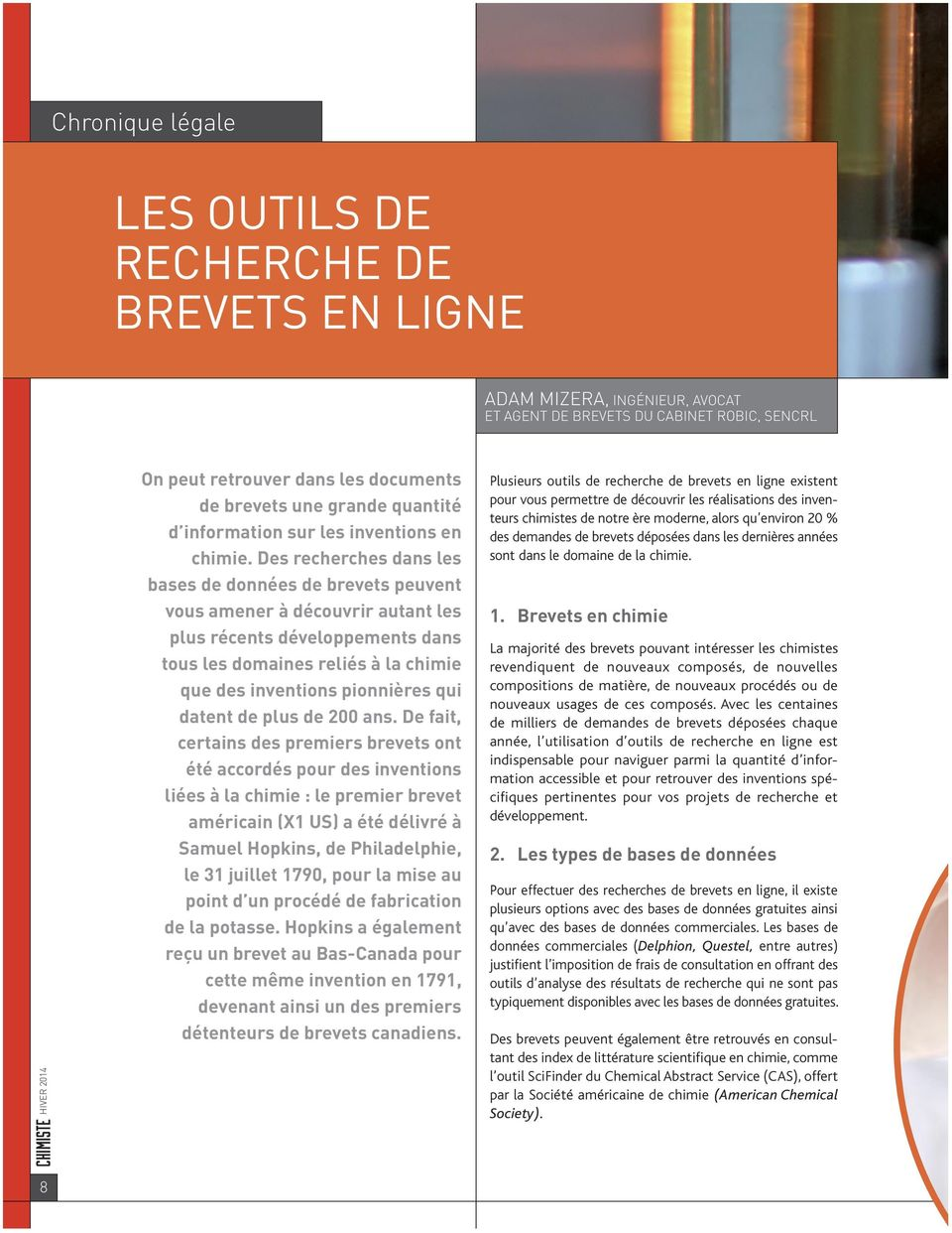 brevets en Ligne GUy COLLiN, Ph. D.