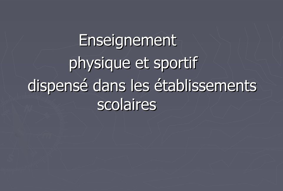 sportif dispensé