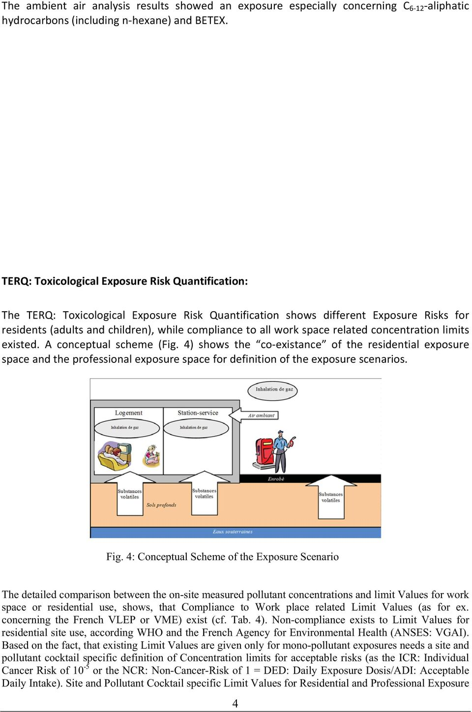 residents(adultsandchildren),whilecompliancetoallworkspacerelatedconcentrationlimits existed. A conceptual scheme (Fig.