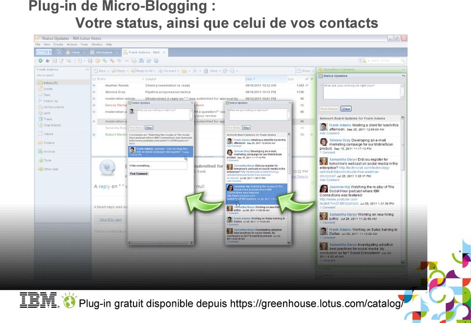 contacts Plug-in gratuit disponible