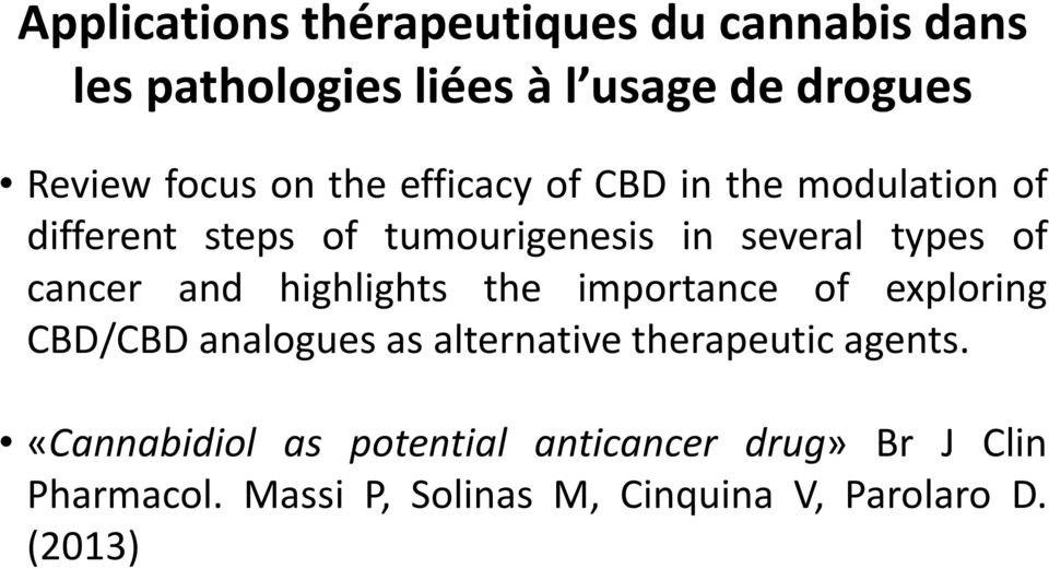 exploring CBD/CBD analogues as alternative therapeutic agents.
