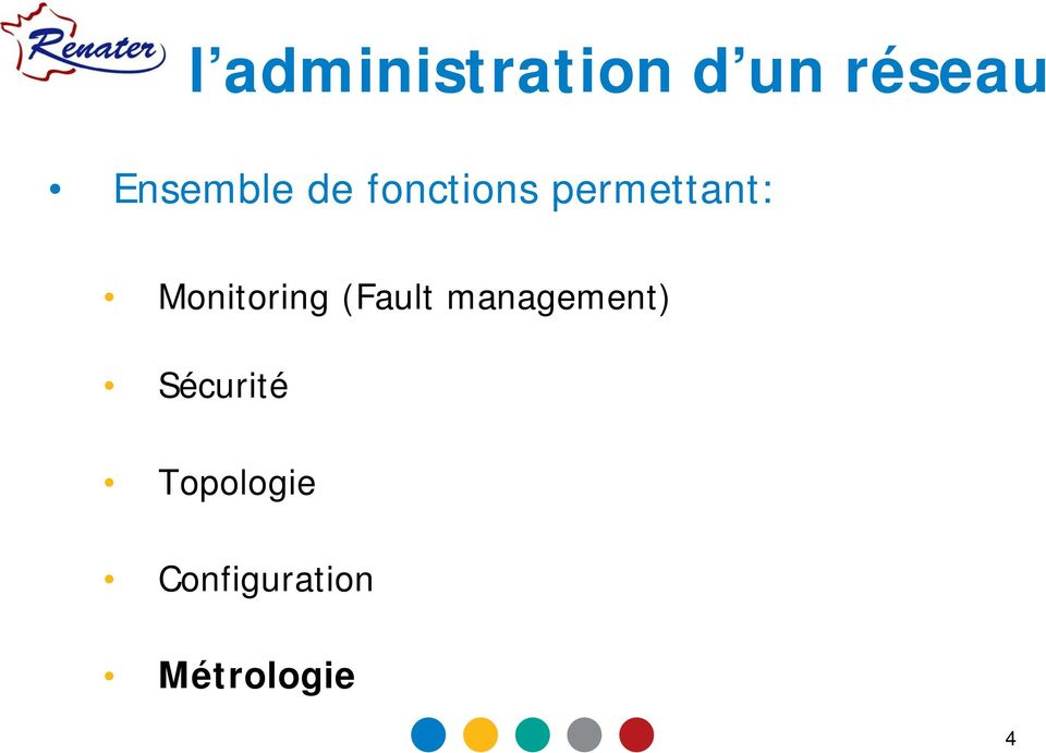 Monitoring (Fault management)