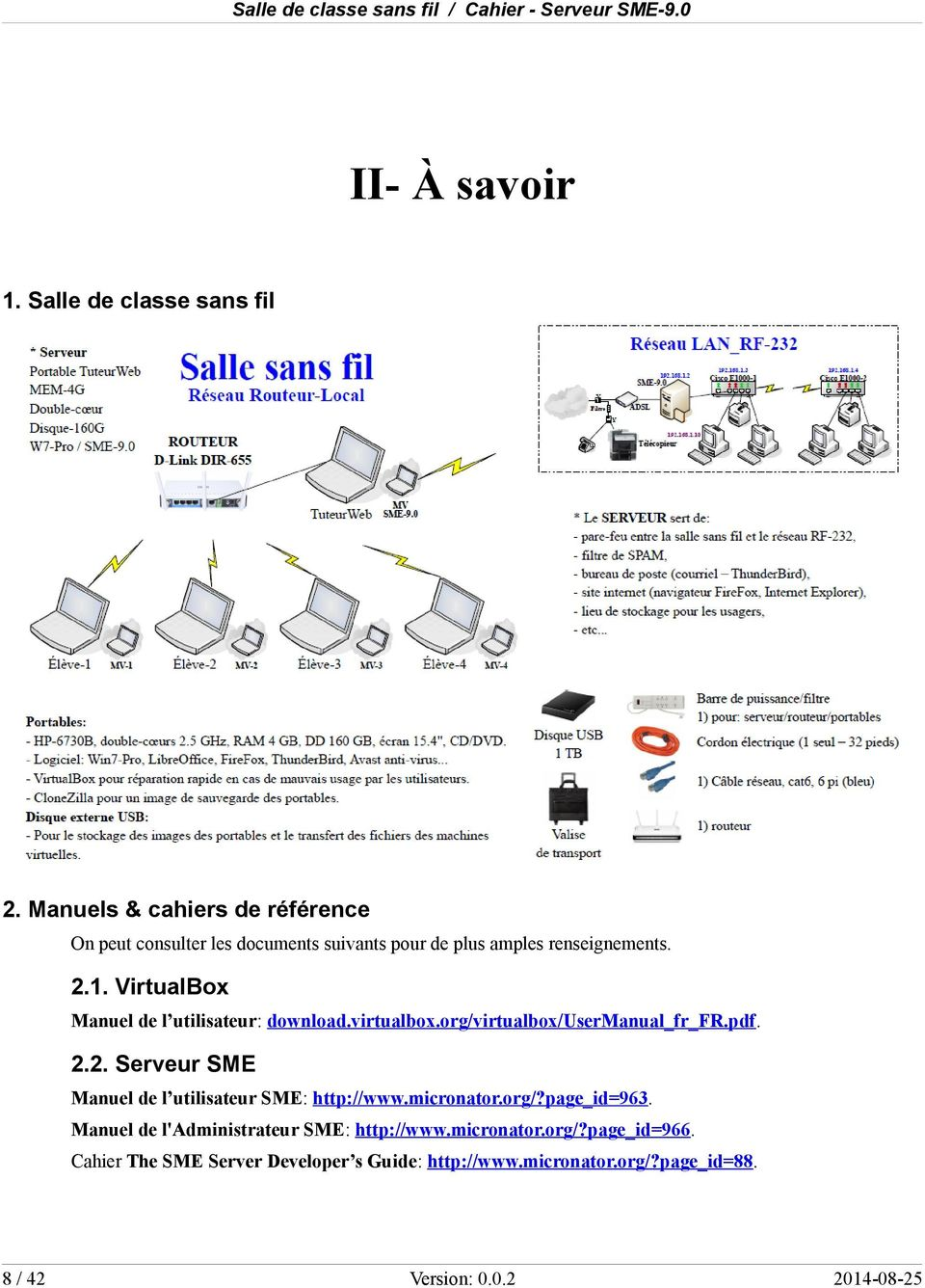 VirtualBox Manuel de l utilisateur: download.virtualbox.org/virtualbox/usermanual_fr_fr.pdf. 2.