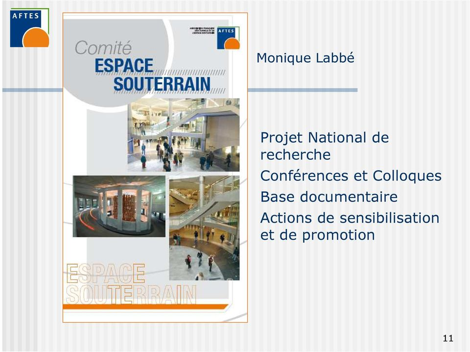 Colloques Base documentaire