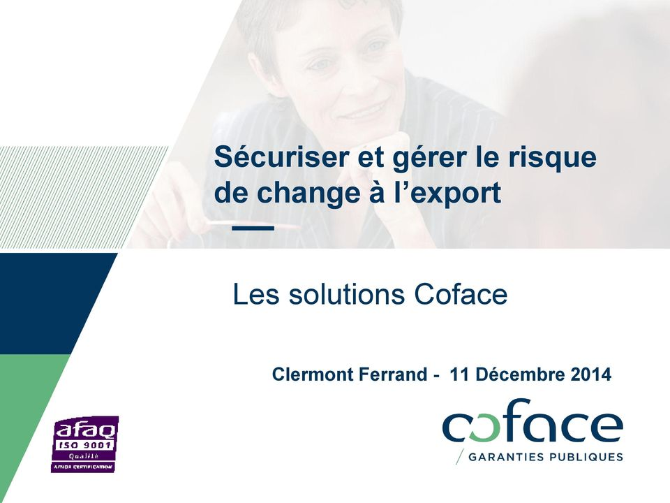 export Les solutions