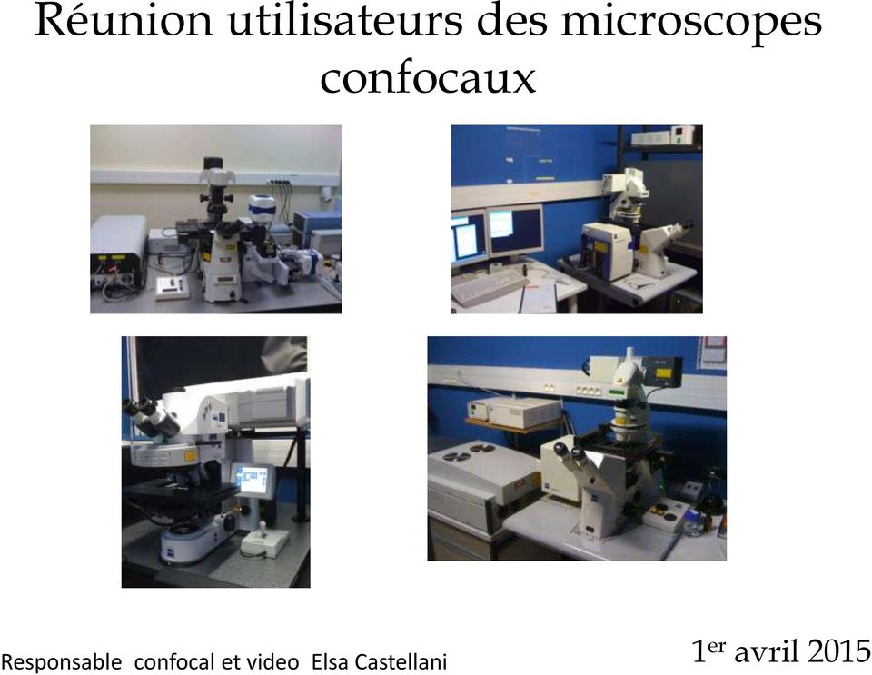 Responsable confocal et