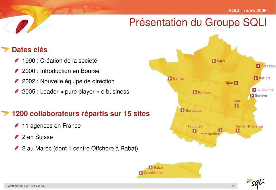 player» e business 1200 collaborateurs répartis sur 15 sites 11 agences en