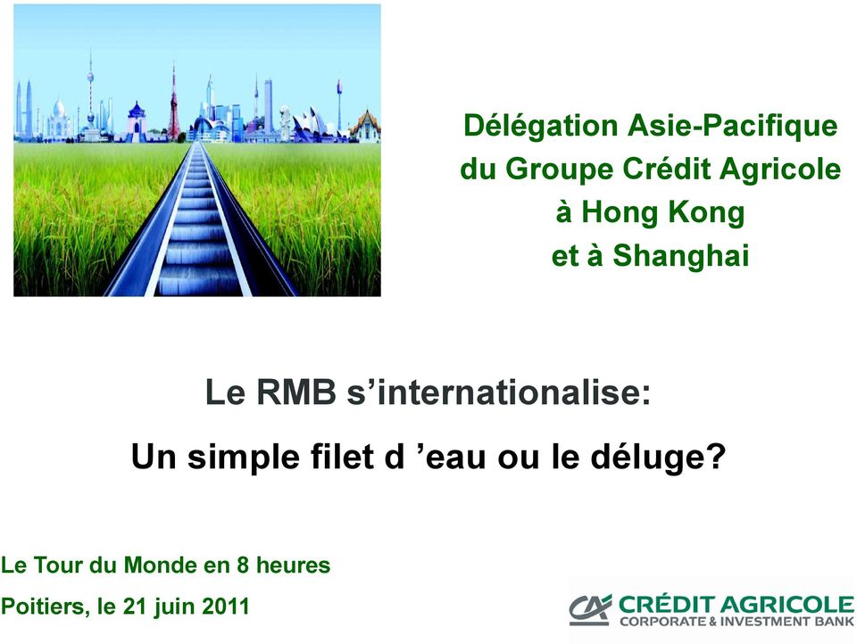 internationalise: Un simple filet d eau ou le