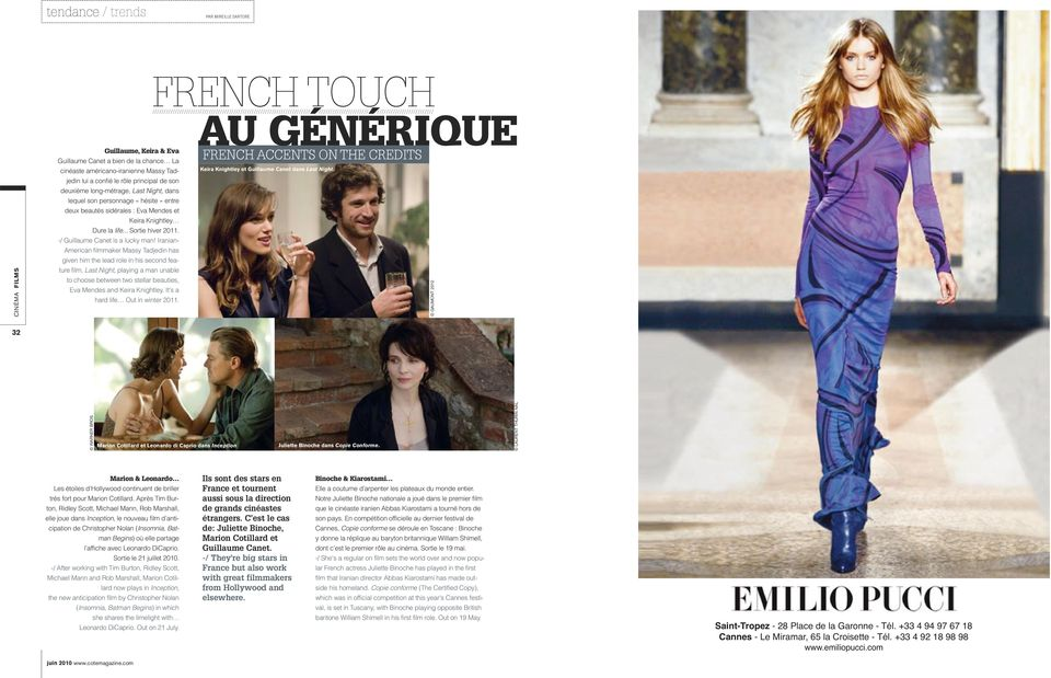 -/ Guillaume Canet is a lucky man!