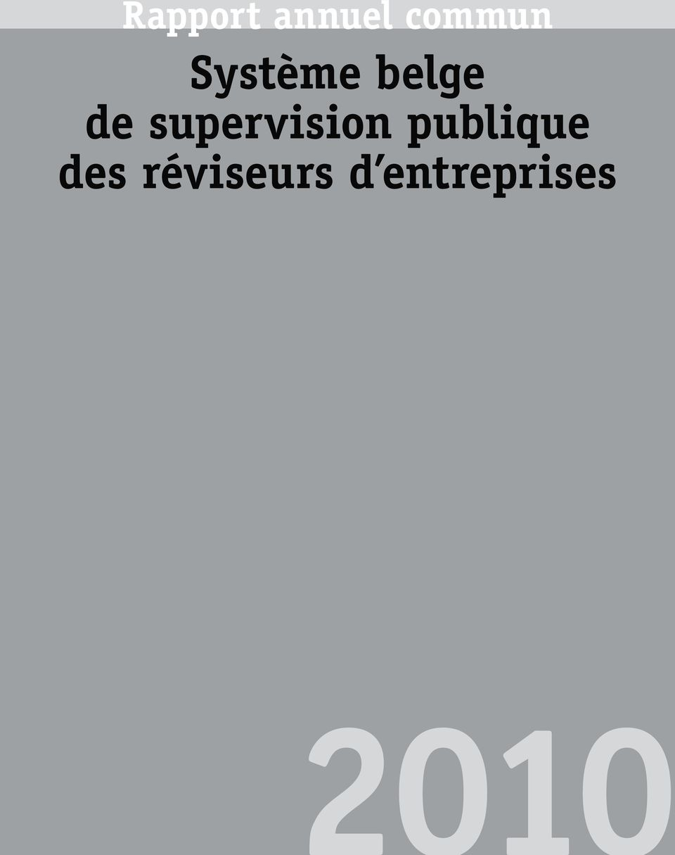 supervision publique