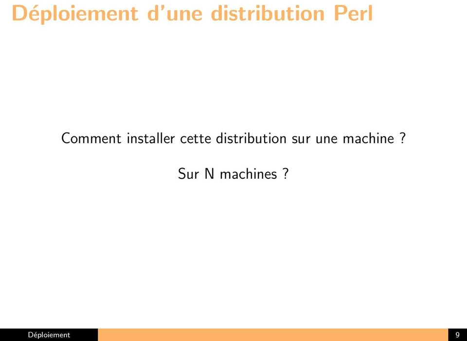 installer cette distribution