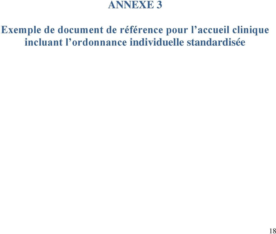 clinique incluant l