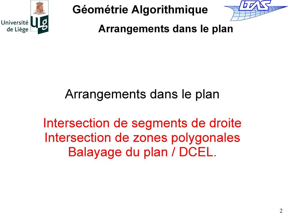 zones polygonales