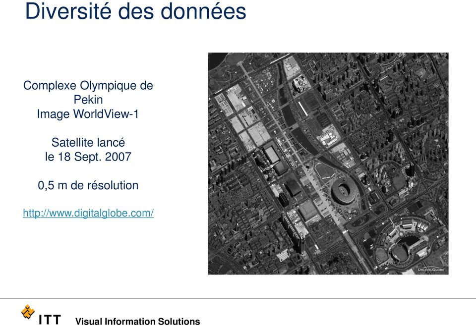 Satellite lancé le 18 Sept.
