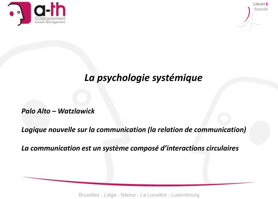 communication (la relation de communication)